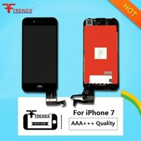 Wholesale Iphone Screen Retina - LCD TOUCH SCREEN + DISPLAY LCD RETINA + FRAME FOR IPHONE 7 BLACK WHITE HIGH QUALITY AAA+++ 100% TESTED