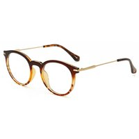 Tea oversized readers - D King Fashion Cat Oversized Clear Lens Round Circle Eyeglasses Frames Decorative Eye Frames With Strong Hinge Fit For Mens Womens Readers