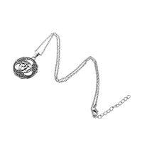 Wholesale gold chain rope design men for sale - Simple Design Vintage Jewelry Viking Talisman Pendant Kabbalah Men Link Chain Pendant Necklace