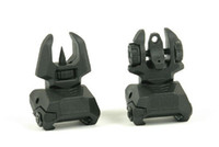 Wholesale olive types - Tactical airsoft Unmark F type Polymer Front & Rear Folding Sights Black Olive Drab Sand