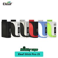 Wholesale battery protection circuit for sale - Group buy Original Eleaf iStick Pico TC Box MOD W Powered by Replaceable Battery Dual Circuit Protection VS Eleaf iStick Pico Starter Kit
