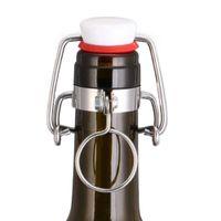 Wholesale Root Beer - 12PCS Ez Cap Flip Top Stopper Root Beer Bottles Replacement Swing Tops Homebrew Brewing Wine Stoppers