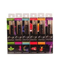 Wholesale fantasia hookah e pens for sale - Group buy Original Fantasia E hookah pen puffs disposable hookah pen disposable hookah flavoured cigarettes BOX Free DHL