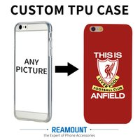 Wholesale Tpu Case Diy - 100pcs Custom DIY Case Personalized Print Plant Soft TPU Cover for iPhone 5s 7 7plus 6 6plus Customize national flag case