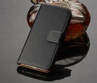 5s cuero genuino al por mayor-Funda de piel auténtica con tapa magnética para Iphone 5 5s 5c 6 6 plus 7 7 plus