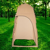 Wholesale Camp Shower Tents - TOMSHOO Portable Outdoor Shower Bath Changing Fitting Room Tent Shelter Camping Beach Privacy Toilet Y0956