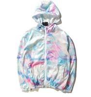 Wholesale Sweatshirt Outerwear Jacket - thin Jacket Men KANYE yeezus Hip Hop Windbreaker Jackets Men Women sweatshirt Fashion brand Outerwear uniform coat hip hop jacket