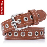 Wholesale Steam Belt - A lady all-match steam eye belt decorative pin buckle belt belt wholesale trend of students