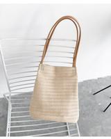 Wholesale korea south handbags - 2017 Japan and South Korea leisure woven single shoulder buckets bag summer new wild women handbags