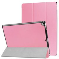 Wholesale ipad new leather case - Ultra Slim PU Leather Cover Case for New iPad Pro 12.9 inch 2017 Tablet + Stylus Pen
