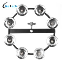 Wholesale Tambourine Musical Instruments For Kids - Wholesale-Kids Toys Tambourine Metal Jingle Bell Ring Tambourine Percussion Instruments Early Educational Musical Toys for Kids Children