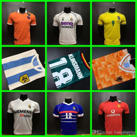 Wholesale Zidane France - 1990 1988 Netherlands 1978 1986 Argentina 1990 Mexico 1998 France Brazil 04 15 06 17 Real Madrid ronaldo zidane retro soccer jersey