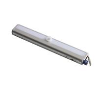 pil ile çalışan pir sensörü toptan satış-Pir motion sensörü kablosuz akülü ışık 10led 0.8 w 6 v dolap ışık kabine işık her yerde ce rohs toptan sopa