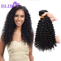 Wholesale Deep Wave Braid Hair - 100 Natural Human Hair Peruvian Deep Wave Virgin Hair Human Braiding Peruvian Virgin Hair Cheap Peruvian Deep Wave