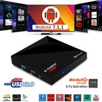 Wholesale Original Media Player - 2018 Original r-tv box mini KD17.4 pre-installed android 7.1 tv Quad Core Facebook Youtube TV Netflix IPTV fully loaded Media Player