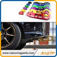 Wholesale Honda Races - RASTP - JDM Style Racing Rear Tow Hook Aluminum Alloy Rear Tow Hook for Honda Civic RS-TH004