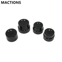 Wholesale Cnc Nut - Front+Rear Axle Cover Cap Nut Kit CNC Aluminum For Harley Sportster XL 883 1200 Motorcycle