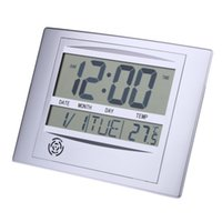 ASLT La Crosse Technology WT-8002U Reloj de pared digital Monitores multifuncionales temperatura interior Calendario