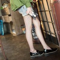 ropa interior de mujer delgada al por mayor-2017 calcetines para mujer mujeres señoras Fishnet patrón neto Burlesque Hoise pantimedias medias negras 3 tamaño 350 unids