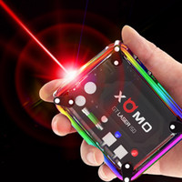 100% originale XOMO GT LASER 150 BOX MOD costruito in batterie 3500mAh 150W TC con luci lampeggianti LASER Authentic 0207619
