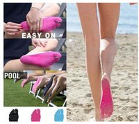 Wholesale Newest Hot Sale Creative Summer Holiday Beach fit Insole Waterproof Anti skid Anti cutting Sandals Polyester Cotton Nano Material Unique Foo