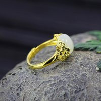 Wholesale Tian Rings - S925 silver jewelry wholesale ladies fashion aesthetic and Tian Yu opening ring wholesale and retail free shipping