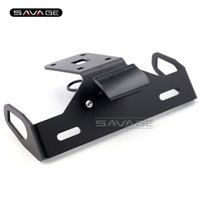 Kawasaki Guardabarros Eliminatoria Baratos-Para KAWASAKI Z1000 2014 2015 2016 Cola de motocicleta Tidy Fender Eliminator Registro Soporte de placa de matrícula LED