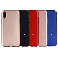 Wholesale Plain Phone Case Cover - Fashion Metallic Soft TPU Case For Iphone X 8 7 Plus 6 6s SE 5 Plain Silicone Chromed Plating Electroplate Gel Rubber Cell Phone Skin Cover