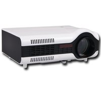Wholesale Projector 3d Price - Wholesale-Amazing price Freeshipping 2200lumens HD Portable Multimedia 3D LED LCD Mini TV Projector proektor proyector for home theater