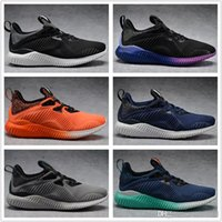 Wholesale High Fashion Discount Shoes - With Box With Box 2017 Discount Cheap Boost 330 Men Women Running Shoes High Quality Alphabounce Cheap Fashion Jogging Shoes Free Shipping