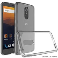 Wholesale Galaxy Note Armor - Transparent TPU PC Clear Shockproof Armor Phone Case for Nokia 6 Galaxy Note 8 Moto E4 LG Stylo 3 Iphone 8 7 Plus Opp Bag
