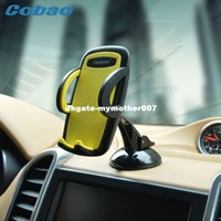 Wholesale I Phone 5g - Cobao Universal Car Windshield Mount Holder phone car holder For ipphone SE 6 6s 5S 5C 5G 4S MP3 i GPS Samsung Galaxy note