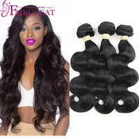 Wholesale Cheap Hair Extensions Fast Shipping - Body Wave Brazilian Human hair Weaves Mink Unprocessed Human Hair Extensions 3Bundles Cheap Brazilian Human hair Extensions Fast Shipping