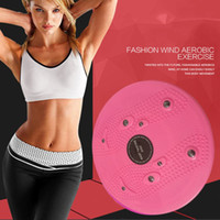 Wholesale waist twisting board for sale - Group buy Practical Twist Waist Torsion Disc Board Magnet Aerobic Foot Exercise Yoga Training Health Twist Waist Board