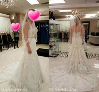 Wholesale Justin Wedding Dresses - Justin Alexander Mermaid Lace Wedding Dresses 2017 Sweetheart Appliques Beads Court Train Gorgeous Bridal Gowns Vestidos De Noiva Custom