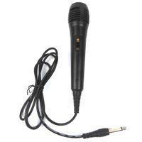 máquina de gravação venda por atacado-Unidirecional Microfone Dinâmico Com Fio para Gravação de Voz Máquina de Cantar Sistemas de Karaokê e Computadores KTV + B