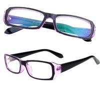 büyük kutu gözlükleri toptan satış-Bilgisayar Gözlük Moda Renkli Radyasyon 21007 Moda Büyük Kutu Erkekler Ve Kadınlar Için Anti-parlama Radyasyon Gözlük