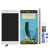 digitalizador de cristal xiaomi al por mayor-Pantalla táctil de alta calidad Glass + LCD Display Digitalizador Asamblea para Xiaomi Mi5S Mi 5S teléfono inteligente negro / blanco envío gratis