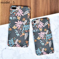 Wholesale Mobile Phone Shell Material - mobile phone shell black matte TPU painted protective cover for iphone 6 7 7 plus factory direct scratch-resistant material phone case