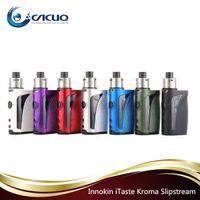 Wholesale Itaste Vape Mod - Ecigarette Innokin iTaste Kroma Vape System 75W 2000mAh TC VW APV 2ml Juice Capacity Mod Kit 100% Original