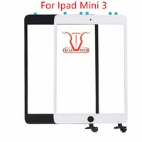 Wholesale Ipad Mini Touchscreen - For iPad mini 3 Front Screen Digitizer Glass Replacement with IC Adhesive Full Assembly Without Home Button Touchscreen Touch Panel