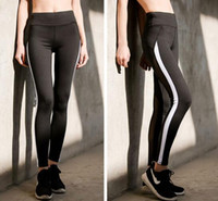 Wholesale Tight Black Leggins - Women Patchwork Yoga Pants Leggins Fitness Trousers Sports Leggings Gym Sportswear Running Tights Athletic Pants