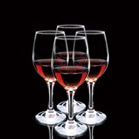 Wholesale Tall Glasses Wholesale - 315ml Red Wine Glass Western Style High-grade Transparent Glass Bar Hotel KTV Home Goblet Tall Red Wine Cup