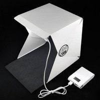 Wholesale Photography Box Kit - Waterproof pvc mini portable light box for professional photography studio photos camera fotografica digital props accessories