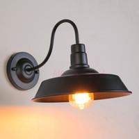 eski duvar lambası toptan satış-Modern Duvar Lambası Aplik Açık Su Geçirmez Işık ev Vintage Idustrial Bahçe aydınlatma Kapalı