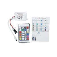 Wholesale Led For Test - DC 5V IR remote controller for WS2812 RGB LED strip Test WS2812B WS2811 WS2812 Pixel LED Strip Light 24Keys Mini Controller