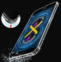 Wholesale Huawei Honor Soft Case - 1pc Case for Huawei Honor 9 Honor 8 Lite Honor 6X high quality Soft TPU Clear Transparent Protector 1.2mm thickness back cover