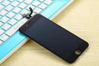 digitalizador full frame iphone 5c venda por atacado-Min. ORDER 1 pcs melhor qualidade para iphone 5 / 5c / 5s lcd screen display digitador quadro conjunto completo assembléia branco e preto frete grátis
