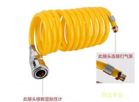 Wholesale connect pipe for Car Tire Tyre Inflator Portable Metal Vehicle Auto Electric Pump