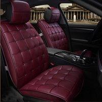 Wholesale Chevrolet Car Seat Covers - Special Leather High quality Car Seat Covers For Ford ,Toyota, Nissan, Chevrolet All Models Car Seat Covers Universal cushion